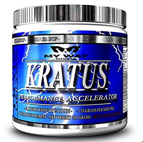 Kratus - #1 Pre Workout Powerhouse sur Amazon a voté dessus convenant au goût & haute puissance ingrédients - supplément poudre boisson pour reprendre des forces, être dupé, améliorer la Concentration, ruée vers l'énergie douce, séances d'entraînement