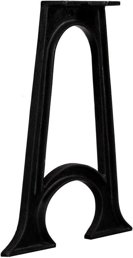 vidaXL 2x Tischbein A-Rahmen Gusseisen Tischfu/ß M/öbelfu/ß M/öbelbein Tischbeine