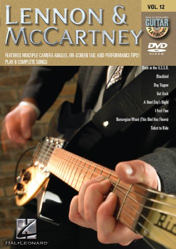Lennon & McCartney - Guitar Play-Along DVD Vol 12