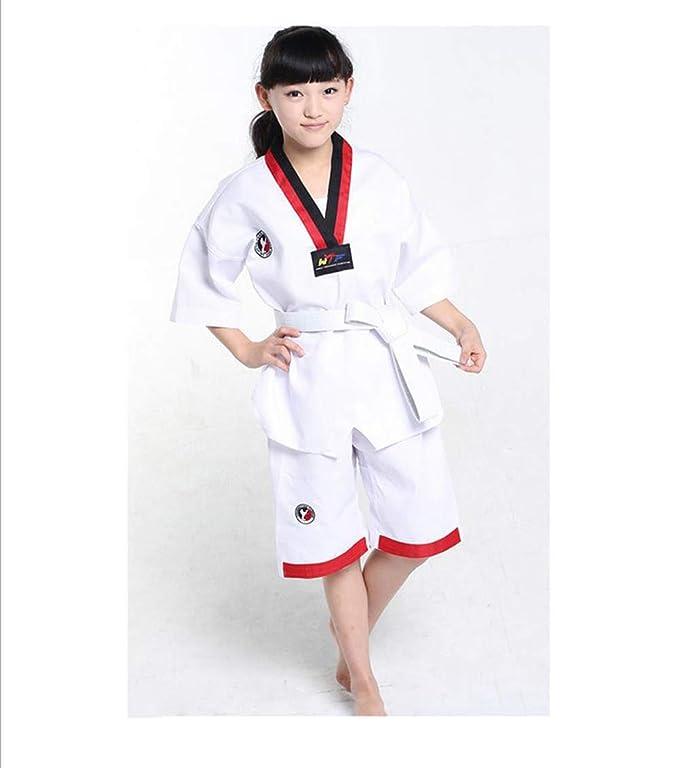 AMhuui Uniforme de Karate Blanco de Artes Marciales, Uniforme de ...