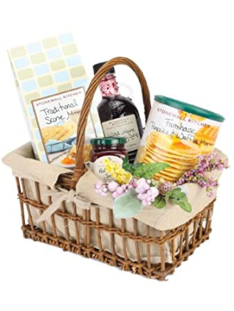Amazon lazy sunday morning breakfast gift basket perfect lazy sunday morning breakfast gift basket perfect gift for easter mothers day or any negle Image collections