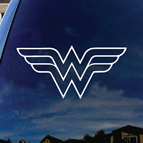 W Superhero Woman Symbol Car Truck Vinyl Decal 6
