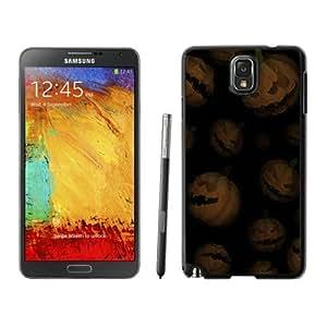 Popular Sell Design Halloween Pumpkins Black Samsung Galaxy Note 3 Case 1