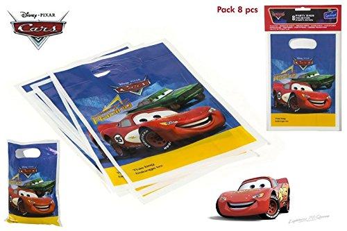 DISOK - Pack 8 Bolsitas Party Cars - Bolsitas, Bolsas para ...