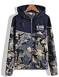 Big Boys' Camo Sweatshirt Jacket