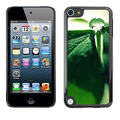 Soft Silicone Rubber Case Hard Cover Protective Accessory Compatible with Apple IPod Touch 5 - Plant Nature Forrest Flower 85