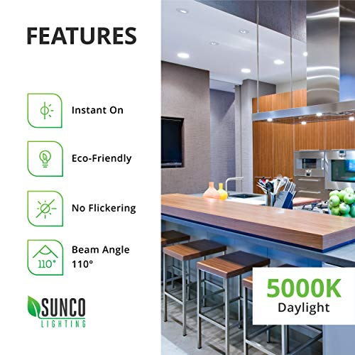 Sunco Lighting 32 Pack BR30 LED Bulb 11W=65W, 5000K Daylight, 850 LM, E26 Base, Dimmable, Indoor/Outdoor Flood Light - UL & Energy Star by Sunco Lighting (Image #6)