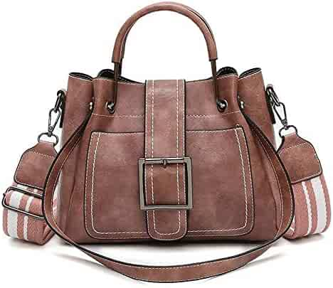 Shopping 3 Stars & Up - Leather - Pinks - $25 to $50 - Shoulder Bags