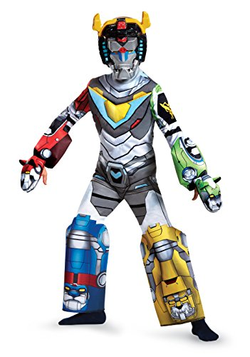 Voltron Deluxe Costume, Multicolor, Small (Four Element Costumes)