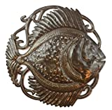 Cheap it's cactus – metal art haiti Fifi Fish Garden Wall Art, Nautical Outdoor Decor 14″ x 14″