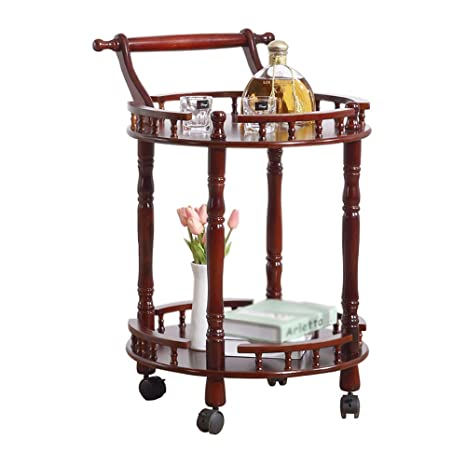 Amazon.com: Trolley Chunlan - Tarro de madera maciza para el ...
