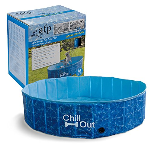 ALL FOR PAWS Outdoor Bathing Dog Pool Portable Pet Bath Tub Blue by ALL FOR PAWS (Image #6)