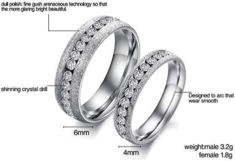 Noemigal Arce Jewelry Mens Womens White Cubic Zirconia Love