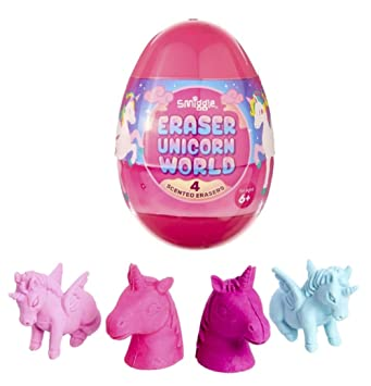 e8bdb497fdff3 Smiggle Eraser Egg Surprise (Pink Unicorn): Amazon.co.uk: Office ...