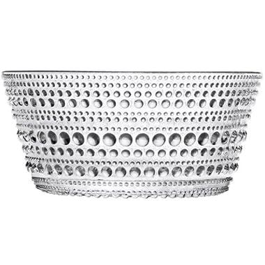 Iittala Kastehelmi Bowl, Clear