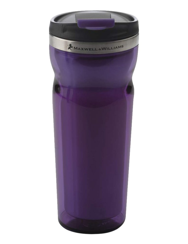 9a59da0bf5a Maxwell & Williams Hot and Cold Travel Mug Purple: Amazon.ca: Home ...