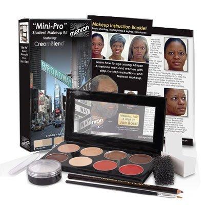 Stage Makeup Kits (Mehron Mini-Pro Theatrical Kits - Medium Dark/Dark Complexion KMP-B)