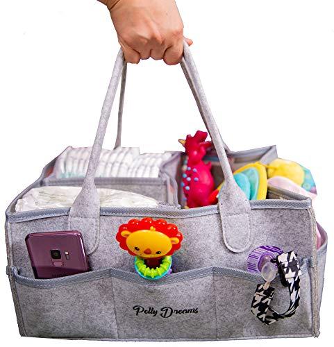 Diaper Caddy Organizer Basket Newborn Girl Baby Shower Gifts by Pelly Dreams