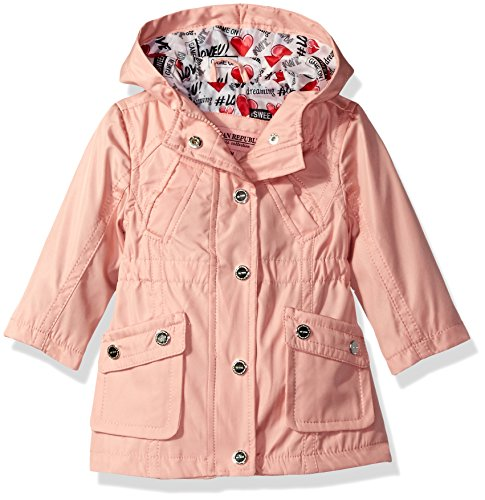 Price comparison product image Urban Republic Girls' Cute Trench Coat 1, Baby Pink, 18M
