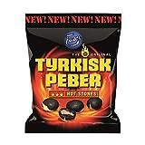 Fazer The Original Tyrkisk Peber HOT STONES Finnish Salmiakki Salmiac Salmiak Salty Licorice Candy Sweets Bag 150g