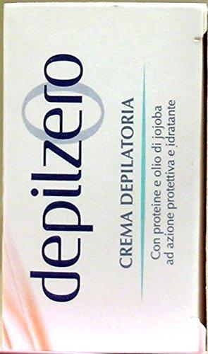 DEPILZERO Crema Depilatoria piernas y brazos Aceite Aceite de Jojoba 150 Ml