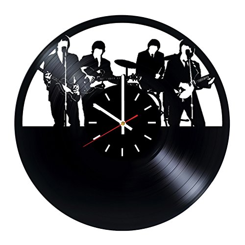 The Beatles Handmade Vinyl Record Wall Clock