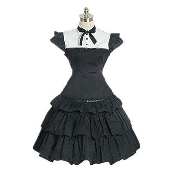 Amazon.com: Niñas y Secrets Cosplay Lolita vestido de Maid ...