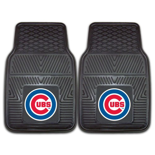 FANMATS MLB Chicago Cubs Vinyl Heavy Duty Car Mat