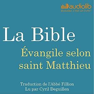 La Bible : Évangile selon saint Matthieu | Livre audio