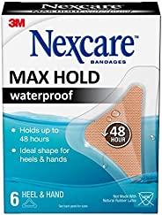 Nexcare Bandages Max Hold Waterproof Bandages, Assorted