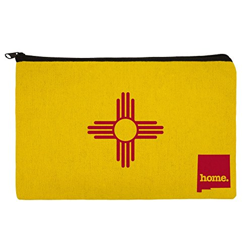 New Mexico NM Home State Flag Officially Licensed Makeup Cosmetic Bag Organizer Pouch