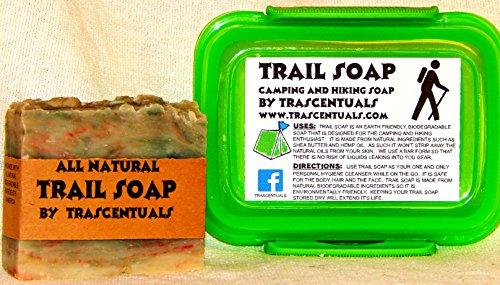 Camping Soap And Shampoo Bar For All Natural