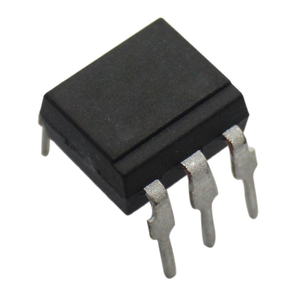 4x 4N26 Optocoupler THT Channels1 Out transistor Uinsul5.3kV DIP6 VISHAY TELEFUNKEN
