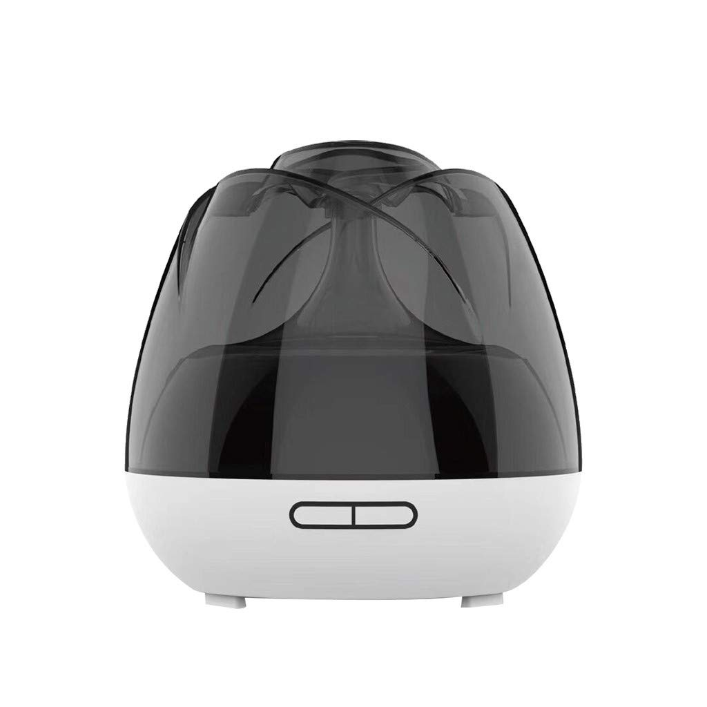SUGEER Humidifier with LED Light and Quiet Fragrance Humidifier Air Ultrasonic Humidifier Tank Negative-ion Diffuser Aromatherapy Cool USB car Home Silent Mist Humidifier