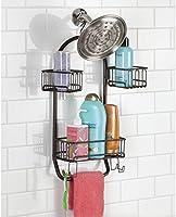 mDesign Estantería para ducha - para colgar sin taladrar ... b5eb5f90a09d