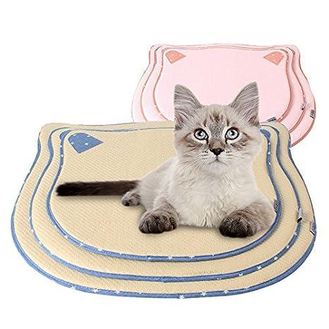 Alfombrilla De Enfriamiento Alfombrilla De Enfriamiento Manta De Enfriamiento Gato De Gato Gatos Colchón Cómodo Enfriamiento