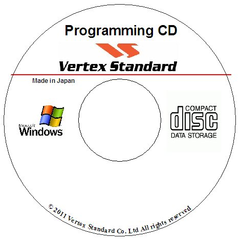 VERTEX STANDARD CE-150 PROGRAMMING SOFTWARE