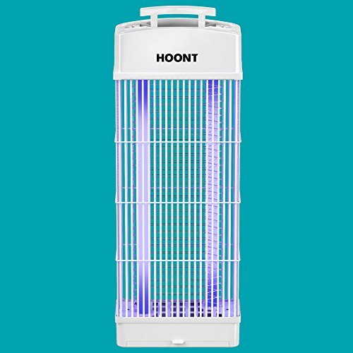 Model Fly Electric - Hoont Standing Electric Indoor Outdoor Fly Zapper and Bug Zapper Trap Catcher Killer with UV - Protects 6,000 Sq. Ft. / Bug and Fly Killer, Insect Killer, Mosquito Killer -For Residential & Commercial