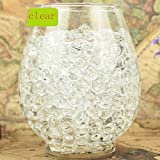 Deco Vase Filler Water Pearl Storing Jelly Beads Wedding Home Decor Display Clear 1200beads 12pack