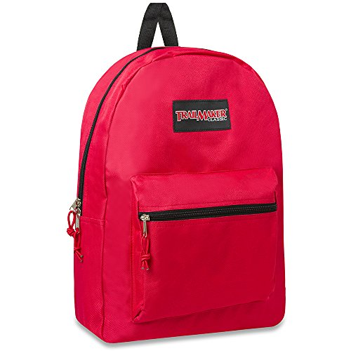 Trail maker Classic Backpack (Red)