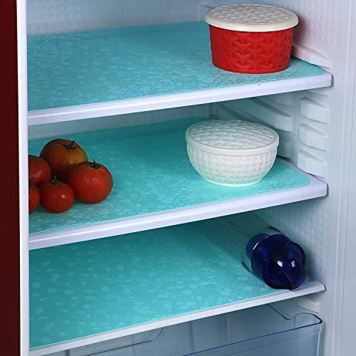 FACTCORE™ Refrigerator Drawer Mat/Fridge Mat/Multipurpose Mat Set of 6 Pcs (12 X 17 Inches) (Sea Green) Price & Reviews