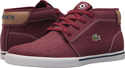 Lacoste Tan 1 Ampthill Light Dark Red 118 Mens rP4q0awr