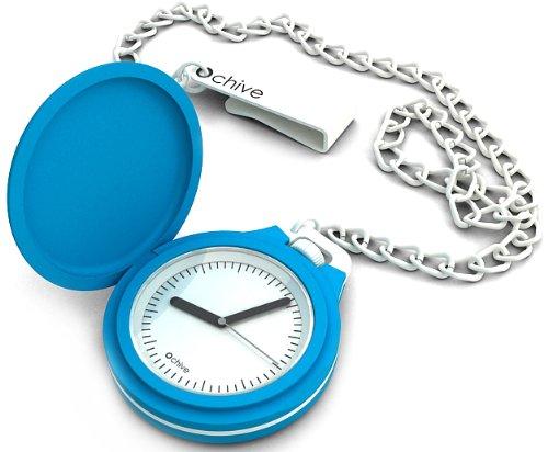 O clock CHIVE.BS - Reloj de bolsillo analógico de cuarzo unisex: Amazon.es: Relojes