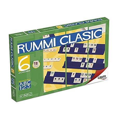 Cayro 712 - Rummi Classic 6 Jugadores (+8 Años): Amazon.es: Juguetes y juegos