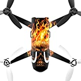 MightySkins Protective Vinyl Skin Decal for Parrot Bebop 2 Quadcopter Drone wrap cover sticker skins Hot Head