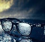 GloFX Diffraction Glasses – Black – Mirror - 3D Prism Firework Grating