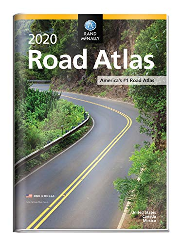 Rand McNally 2020 Road Atlas with Protective Vinyl Cover (Rand McNally Road Atlas United States/ Canada/Mexico (GIFT EDITION)) (Best American Cars 2019)