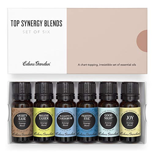 Edens Garden Top Synergy Blend Essential Oil 6 Set, Best...