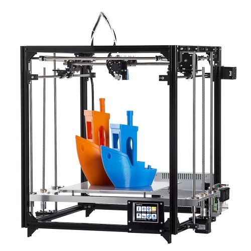 bricolaje impresora 3d Kit Square Full Metal de impresión de gran tamaño 260x 260x 350con nivel de Auto climatizada...