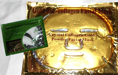 Gold Bio Collagen Facial Mask   Anti Wrinkle Crystal Eyelid Patch